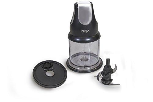 Ninja Food Chopper Express Chop with 200-Watt, 16-Ounce Bowl for Mincing, Chopping, Grinding, Blending and Meal Prep (NJ110GR)