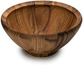 Ironwood Gourmet Salinas Extra Large Salad Bowl XL, Acacia Wood