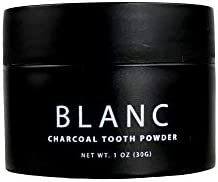Minimo Blanc Charcoal Tooth Powder Peppermint Flavor product image
