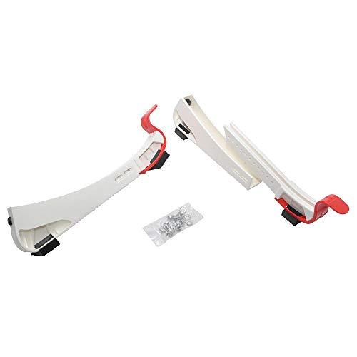 BASE Kufenschoner Step in Paar weiß, für Schlittschuhe, zum Schutz der Kufe, Eishockey Skate, mobiler Kufenschoner