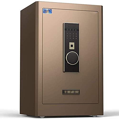 Caja de seguridad de seguridad, Entrada de huellas digitales, Caja de seguridad de pared digital, Caja de seguridad electrónica, Caja de seguridad móvil Caja de seguridad de oficina en casa Caja de s