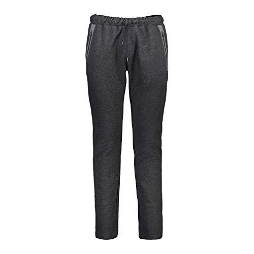 CMP Pantalon Sweat Un Long Pantalon Gris Élastique Moucheté Stretch Double Jersey - U804, L