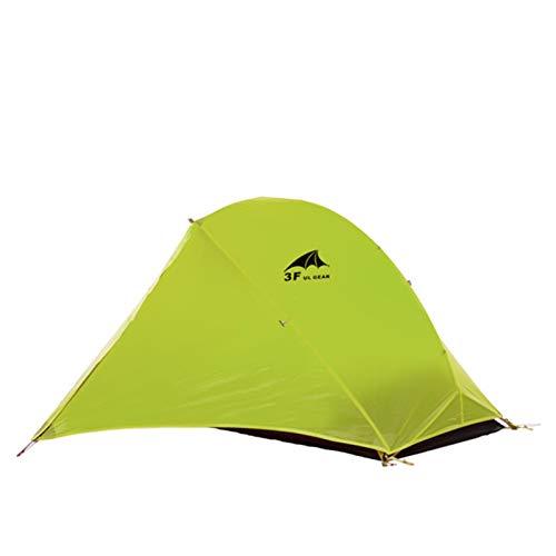Tienda de campaña ultraligeros al aire libre 3/4 Temporada 1 persona individual Profesional 15D Nylon Silicon Tienda de la tienda de la tienda Tent Tents Blackout Tienda de campaña Tienda de campaña P