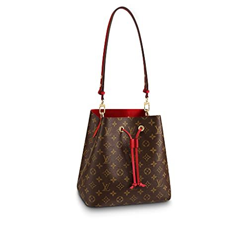 Louis Vuitton Monogram NéoNoé MM Shoulder Bag (Coquelicot)