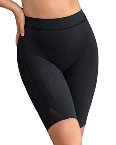 Leonisa Women s Petite Plus Well-Rounded Invisible Butt Lifter Shaper Short, Black, S-M
