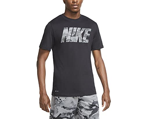 Nike Camo Logo, Hombres, Negro, S