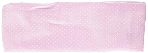 maximo Baby-Mädchen Haarband Mütze, Blau (Pink Mist-Weiss-Punkte 30), 47/49