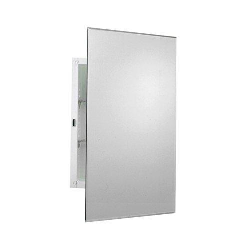 ZPC Zenith Products Corporation EMM1027 Prism Beveled Medicine Cabinet, Mirrored