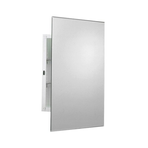 ZPC Zenith Products Corporation EMM1027 Prism Beveled Medicine Cabinet, Mirrored