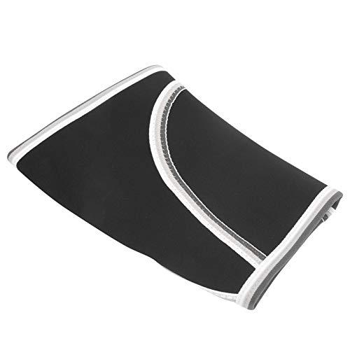 LSAR Manga de compresión de Rodilla, 1 PCS Rodillera Soporte de Rodilla Rodillera Deportiva para Levantamiento de Pesas para Correr para Baloncesto para Gimnasio(L Code)