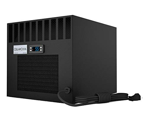 CellarCool CX2200 Wine Cellar Cooling System - Front Power Cord