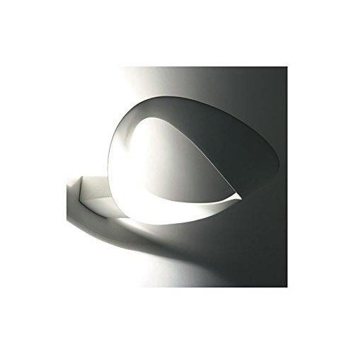 ARTEMIDE - Lampada a parete Artemide Mesmeri LED 3000K - Cromo opaco