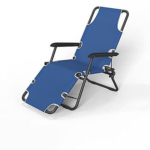 Garten-Recliner-Stuhl, liegestuhl Strandstuhl/Freizeitstuhl/Klappstuhl, Einzelbüro-Klappbett, Lazy Garden Patio-Balkon-Außensessel, mit Kissen-Unterstützung 200kg(Mehrfarbig optional),Children chair