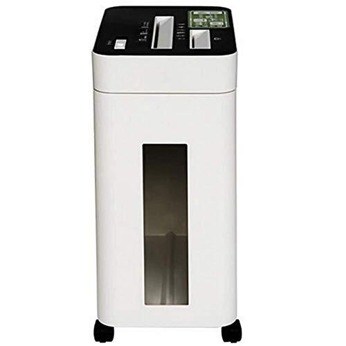 RMXMY Trituradora eléctrica Trituradora de Tiras de succión Lateral Trituradora de Archivos de Silencio for el hogar de Oficina pequeña (17L)