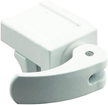 2-Pack Defender Security Vinyl Easy Installation Sliding Window Lock