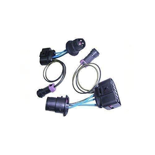 Kabelset koplampen van Passat 3BG in Passat 3B Xenon en halogeen