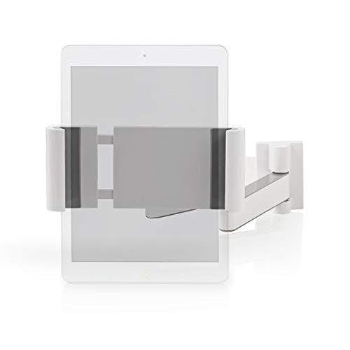 NEDIS Soprorte de Tablet Soporte para Tabletas - 7-12' - Rotación Completa Blanco/Gris