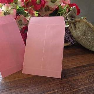 20pcs Light Pink Blank Envelope Stationery Gift Card Envelopes Post Card Photo Letter Storage Party Favor Paper Bag 10x7c...