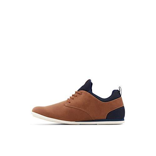 ALDO Men's Preilia Casual Sneaker, Cognac, 7