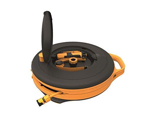 Fiskars Porta-Mangueras S 15m+1,5m/9mm, Standard, 1020436
