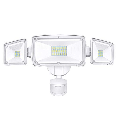 SONATA LED Security Lights, 4000LM Super Bright Motion Sensor Light Outdoor, 42W 6000K, IP65...