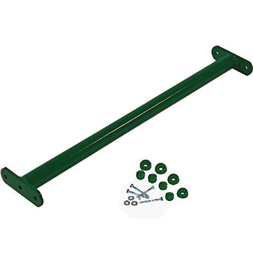 GK Reckstange 90 cm lang, grün, inkl. Schrauben mit Abdeckkappen