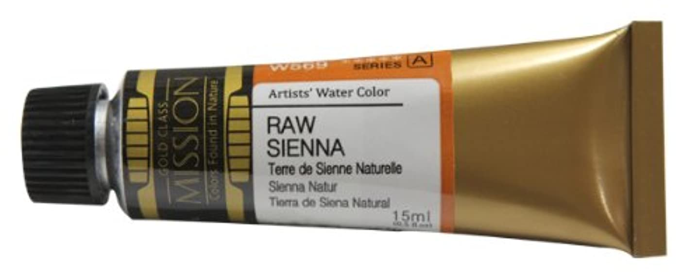 Mission Gold Water Color, 15ml, Raw Sienna