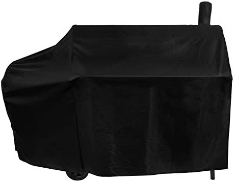 Unicook Offset Smoker Cover 60 Inch Outdoor Heavy Duty Waterproof Charcoal Grill Cover Fade product image