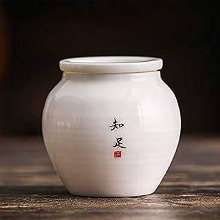 Petite bouteille de médicaments portables portables en porcelaine Portable Simple Blanc Spice Spice Jar Réservoir de stock...