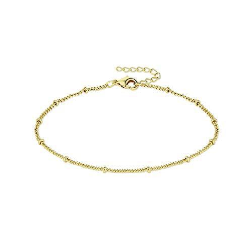 Dainty Satellite Chain Bracelet,Simple Delicate...