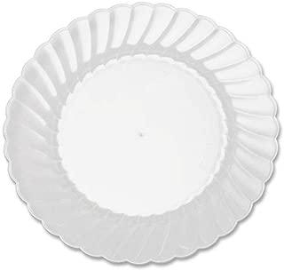 WNA Comet Classicware Hvywt Plastic Clear Plates