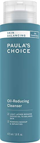 Paula's Choice SKIN BALANCING Oil-Reducing Cleanser with Aloe, Face Wash for Oily Skin & Large Pores, 16 Ounce