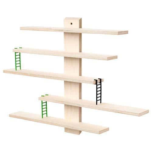 Ikea Lustigt - Mensola da parete, 37 x 37 cm