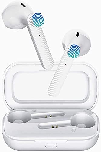 Bluetooth-Kopfhörer, Kabellose Kopfhörer In Ear Bluetooth 5.0, hochwertige Stereoanlage, 30 Stunden Spielzeit, drahtlose Touch-Control-Ohrhörer, Für kopfhörer iPhone/Android/Samsung/Apple