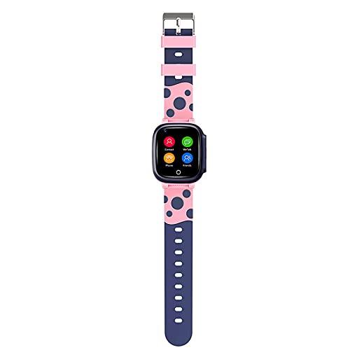 FVIWSJ Smartwatch para niños con Reloj Teléfono Pantalla táctil HD con Llamada SOS Reproductor música Juegos Cámara Calculadora Reloj Despertador Reloj Inteligente Regalos cumpleaños,Rosado