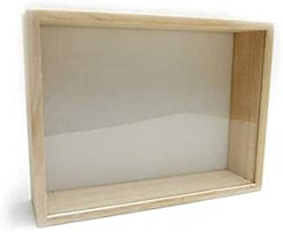 insectech 桐製標本箱:中型(ガラス蓋)