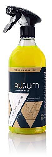Aurum-Performance® Premium Insektenentferner Auto - kraftvoller und materialschonender Insektenreiniger für Lack, Scheiben, Kunststoff, Chrom (preClean Insect Remover, 750ml)