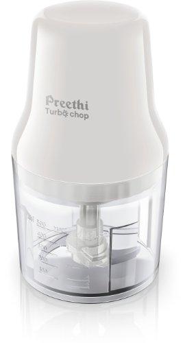 Preethi Turbo Chop CH 601 0.7-Litre 450-Watt Chopper (White)