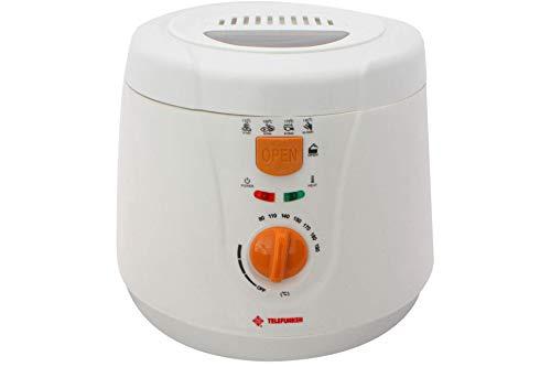 Telefunken - Friggitrice Elettrica 2 litri 2000W, Cestello Estraibile, Rivestimento Antiaderente