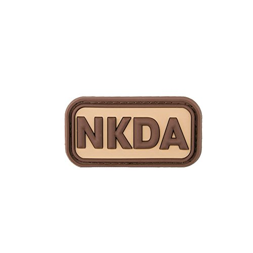 Jackets To Go 3D-Patch NKDA - No Known Drug Allergies desert