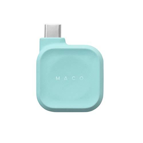 [輸入代理店正規品] Maco Go Apple Watch USB-C 磁気充電ドック (アクア) 1年保証付