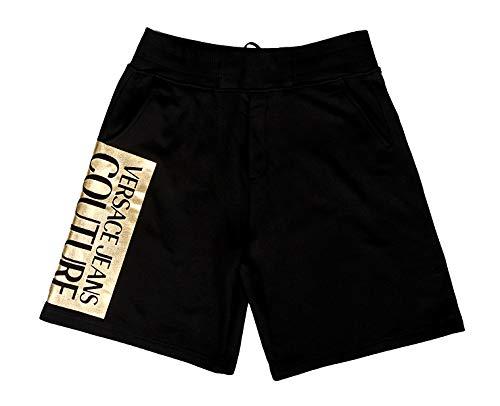Versace Jeans Couture A4gva1tc Shorts Men Black - L - Shorts/Bermudas Shorts