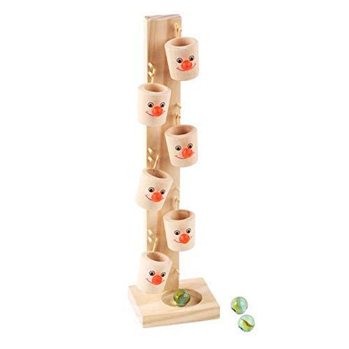 XIALIUXIA Personifizieren Sie Marmorkugel-Laufbahn-Spiel/Kinderintelligenz-Pädagogisches Spielzeug, Holzklotz-Baum, Niedliches Muster Für Kinder/Kindergeburtstags