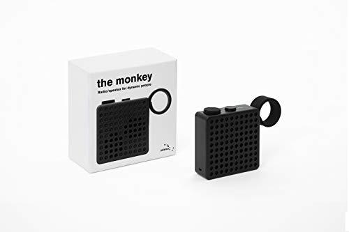 Palomar The Monkey Radio/Bluetooth-Lautsprecher, Schwarz