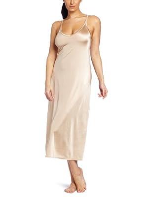 Vanity Fair Womens Spinslip Tailored Slip, 40-18 Length, Damask Neutral from