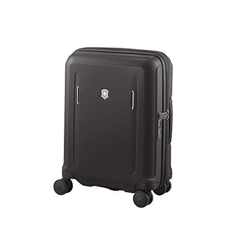 Victorinox Werks Traveler 6.0 Hardside Spinner Luggage, Black, Carry-On, Global (21.7')