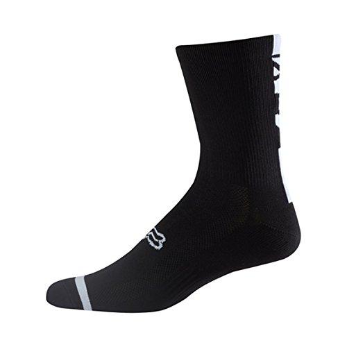 Fox Socken 8 Logo Trail 18464-001-S/M, Black, Größe S/M