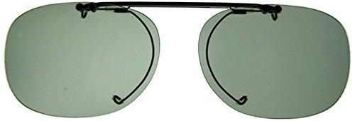 クリップオン調光偏光サングラス Bug Clip Up 60-1 グレー