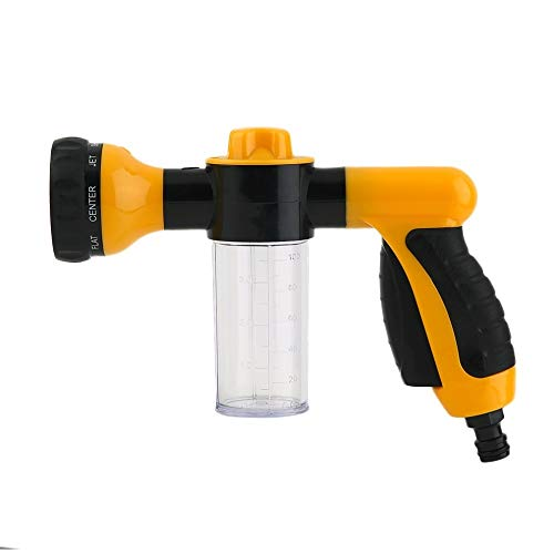 Auto Schuim Water Spuitbus Portable Styling High Pressure Car Wash Foam Spuitbus Black and Yellow Wassen Tool