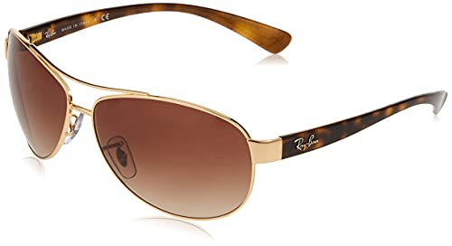 Ray-Ban RB3386 Aviator Sunglasses, Arista/Brown Gradient, 67 mm